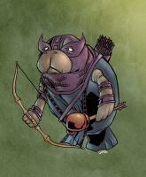 Hawkeye Manatee by jharris