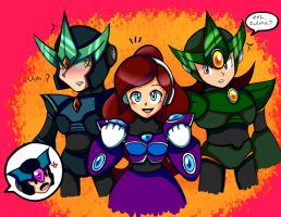 Zulma and the Guys by RoseBereArtist