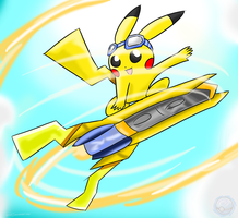 Pikachu: Start Up Your EX Gear! by Xero-J