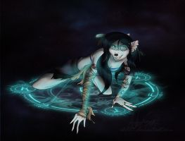 The Gypsy Witch by ALS123