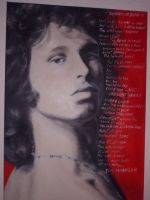 The unknown soldier Jim Morrison by lloxi