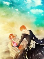 IchiHime: Let's go together by Iwonn