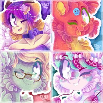 Sketchy Icon Batch 14! by animorphsfan