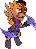 DotA 2 Anti-Mage Pony by ImPlatinum