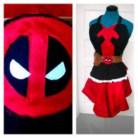 Deadpool apron by LovisaD