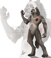 Ceremonial Body Paint by KeksWolf