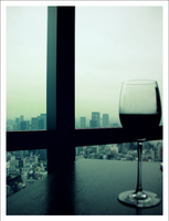 Wine with a View by AzumiChan