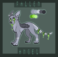Fallen Angel by minttei