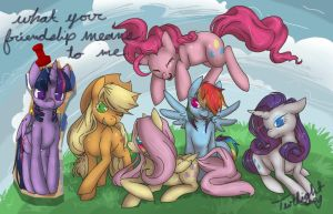What Your Friendship Means To Me by CNat