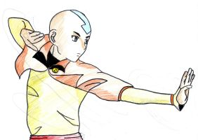 Aang by Mitsukichan17