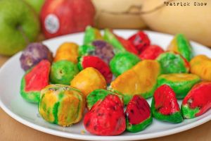 Miniature fruit sculptures 3 by patchow