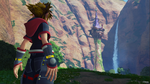Kingdom Hearts III Sora at Rapunzel's Tower by montey4