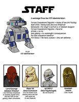 Forced Companions Daycare Yearbook Staff Page by kabeone