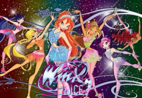 Winx ON ICE Wallpaper3 by schrita