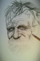 WIP Old Guy by MarcLof