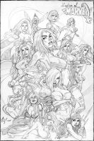 Ladies of Marvel by torsor