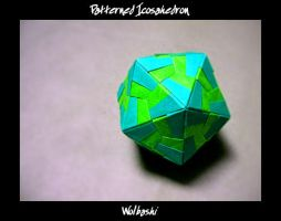 Patterned Icosahedron by wolbashi