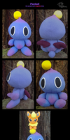 SA2B - 'Fantail' Purple Chao Plush by GoldFlareon