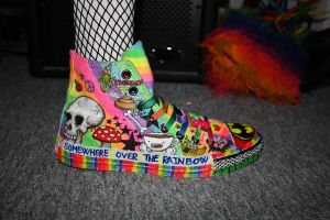 Rainbow converse 2 by ScruffyFluffy