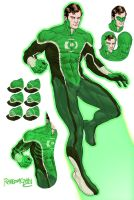 PR Green Lantern by RansomGetty