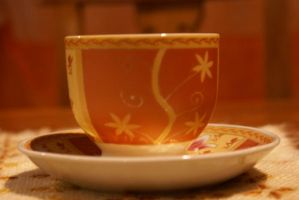 tea cup by bellalleb-stock
