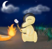 For Taily - Cyndaquil by poliwag30