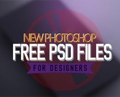 New Photoshop Free PSD Files for Designers by Designslots