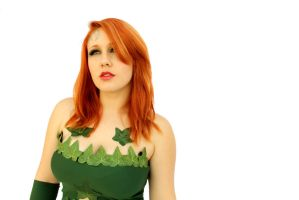 Poison Ivy Quick Costume by GrinningRedFox