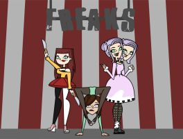 We're a Freak Show by TD-loleighta