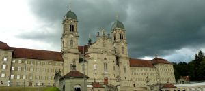 Swiss monastery by Cadaska