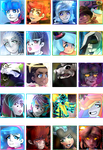 My Character Select (?) by MisterYoshiandwatch
