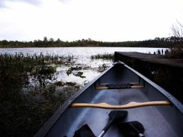 A Canoe for Two by coldestofflames