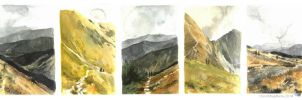 Tatra mountain postcards by OblokMagellana