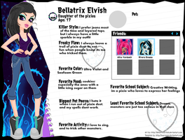 Bellatrix bio by BellatrixEvlish