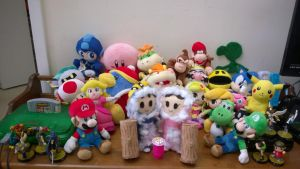 Ice Climbers Plush Party by ZephDGT