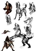 TPS: Skande sketches by ripple09