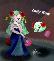 Mario: Human -Lady Bow- by saiiko