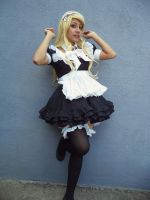 Maid cosplay. 02 by PatyHigurashi