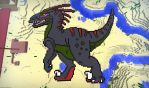 Dragonadopters Minecraft Dino Pixel Art by thazumi