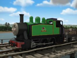 Rosie the Brunswick Green Engine (Updated) by 736berkshire