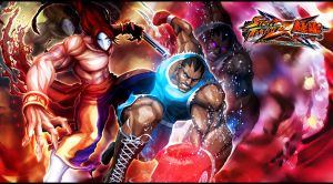 Street FighterxTekken Uneasy Alliance by KaboXx