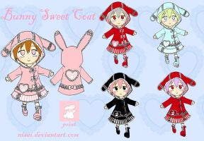 Bunny Sweet Coat by Nisai