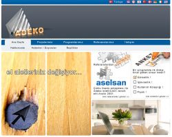 Adeko Web page by HalitYesil
