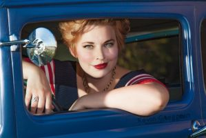 Pinup Girl by kevingreggain