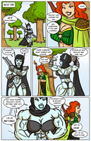 Archery contest comic page 06 by Ritualist
