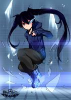 Black Rock Shooter. by Yuzas