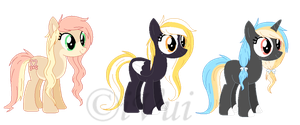 New OCs :Official Debut: by iVui