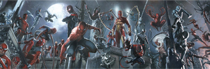 spider verse by Brunursus
