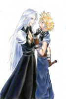 FFVII - No background for you by Alimare
