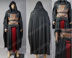 Darth Revan Outfit Cape costume for star wars by moviescostume